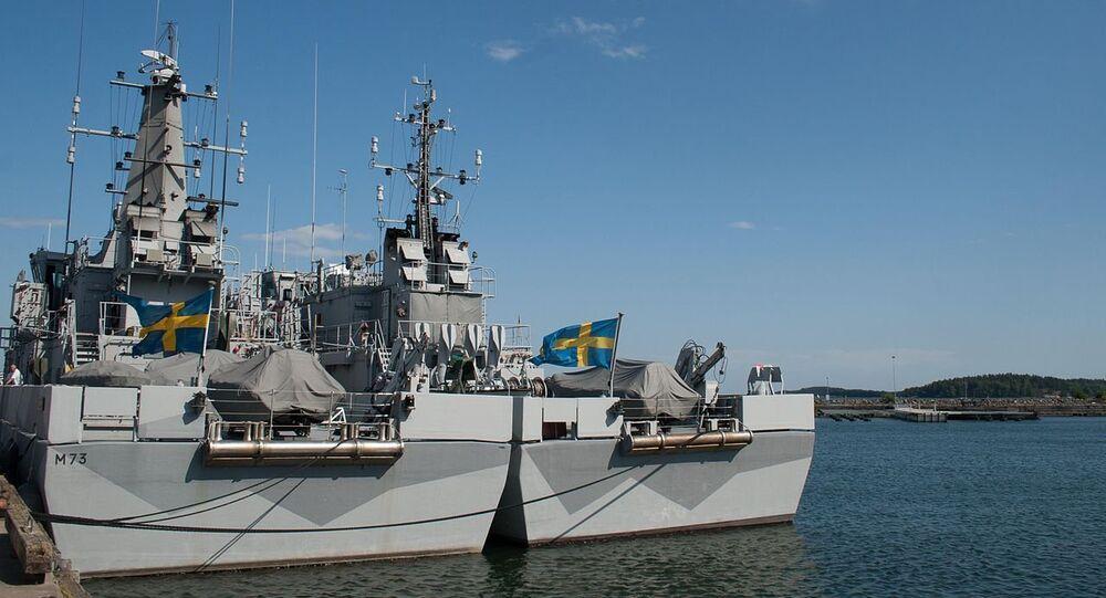 Navios de Suécia (imagem referencial)