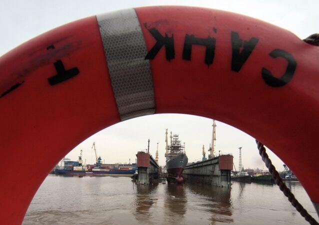 Planta de la construcción naval Severnaya Verf