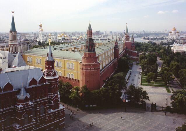 Vista do Kremlin de Moscou, centro da cidade (foto de arquivo)