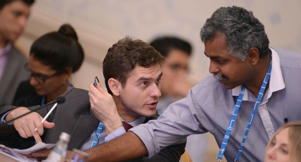 Professor Fabiano Mielniczuk, delegado brasileiro no Civic BRICS