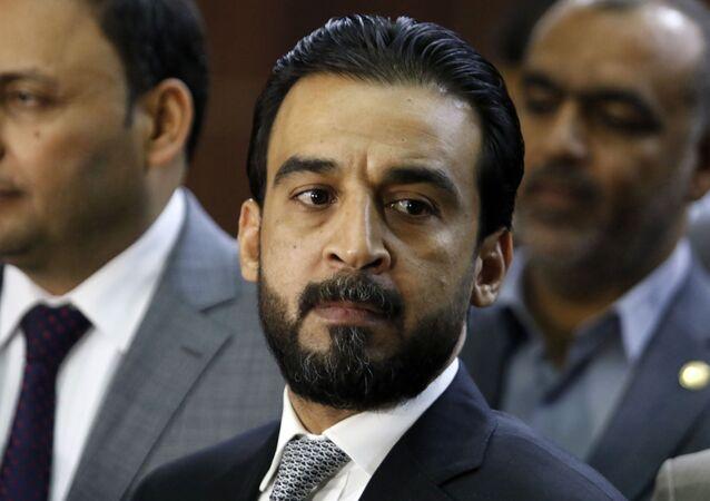 Mohammed al Halbusi, presidente do Parlamento do Iraque