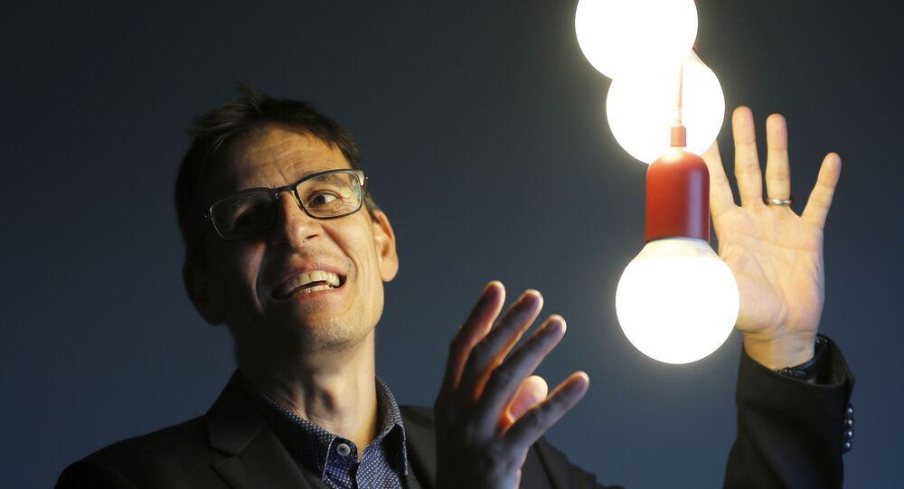 Astrônomo Didier Queloz, vencedor do Prêmio Nobel de Física no dia 8 de outubro de 2019