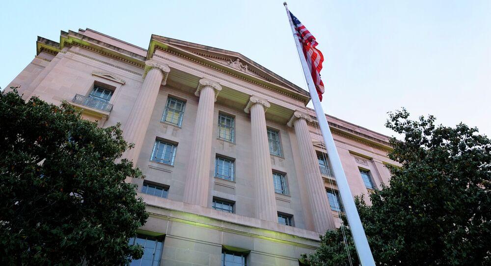 Sede do Departamento de Justiça dos EUA, em Washington