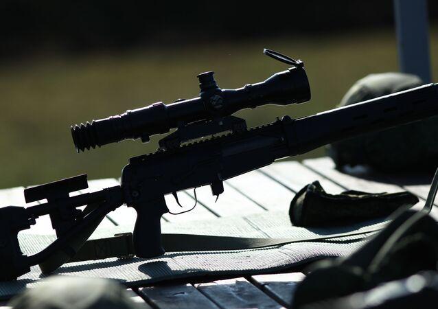 Fuzil de sniper (foto referencial)