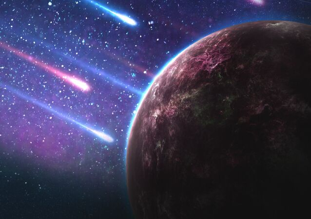 Asteroides (imagem referencial)