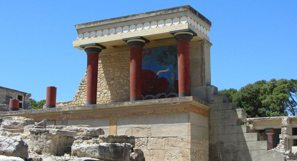 Antiga cidade dos Cnossos