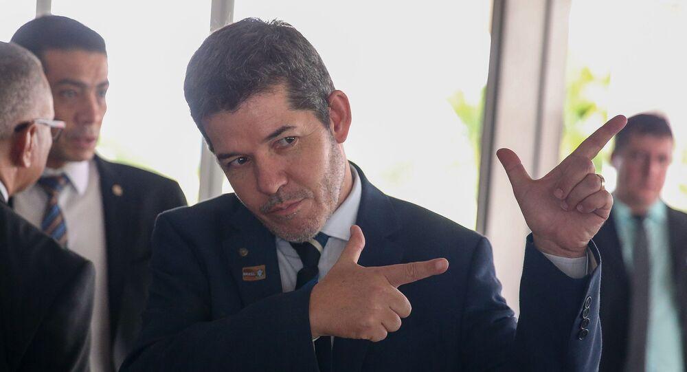 Líder do PSL na Câmara, Delegado Waldir (GO).