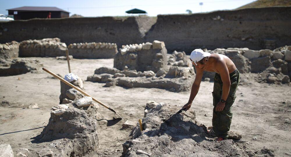 Arqueólogo (imagem ilustrativa)