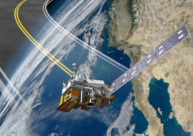 O empuxe de uma metralhadora cinética poderia retirar o satélite de sua trajetória (imagem ilustrativa)
