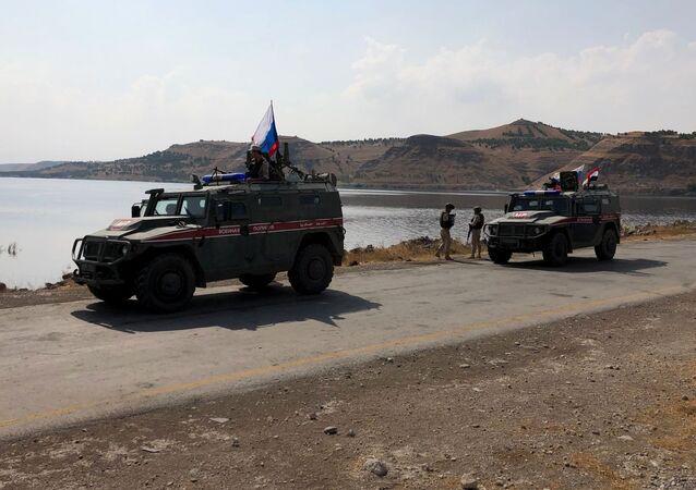 Polícia Militar russa na Síria (arquivo)