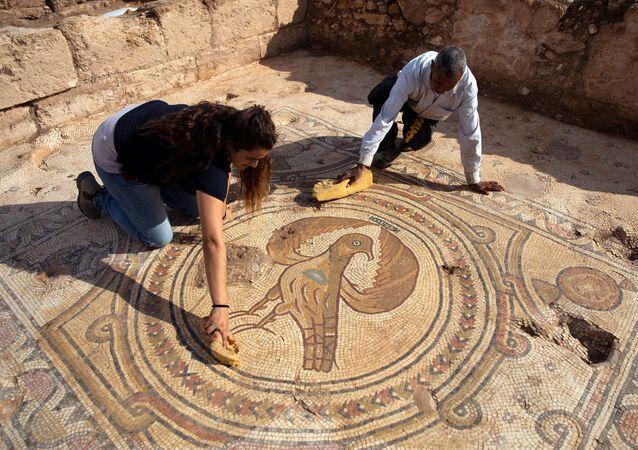 Arqueólogos descobriram um templo cristão de 1.500 anos