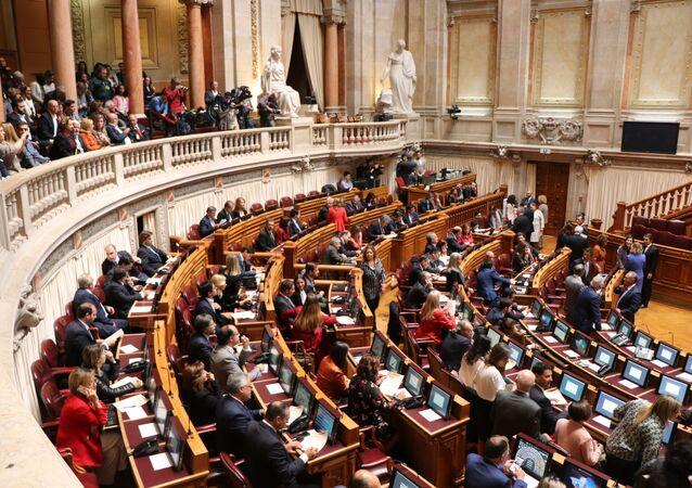 Sessão da Assembleia da República de Portugal em 25 de outubro de 2019