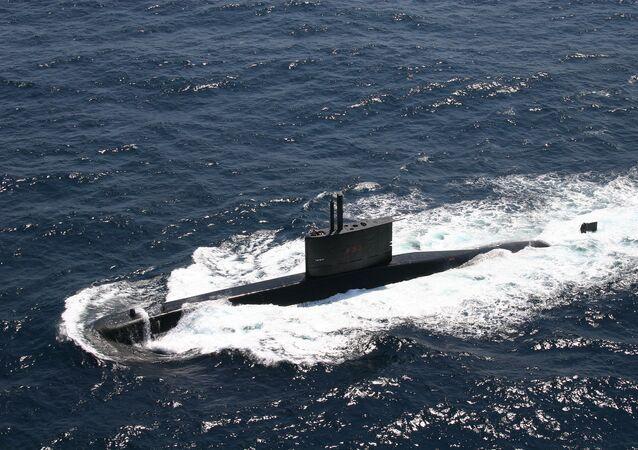 S-33 Submarino Tapajó, da Marinha do Brasil.