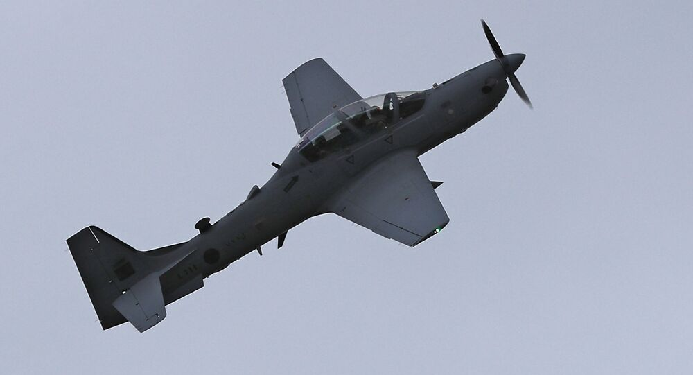Aeronaves A-29 Super Tucano do Líbano (imagem referencial)