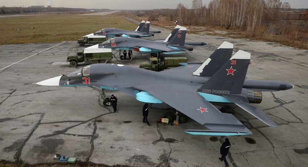Caças-bombardeiros multifunção Su-34