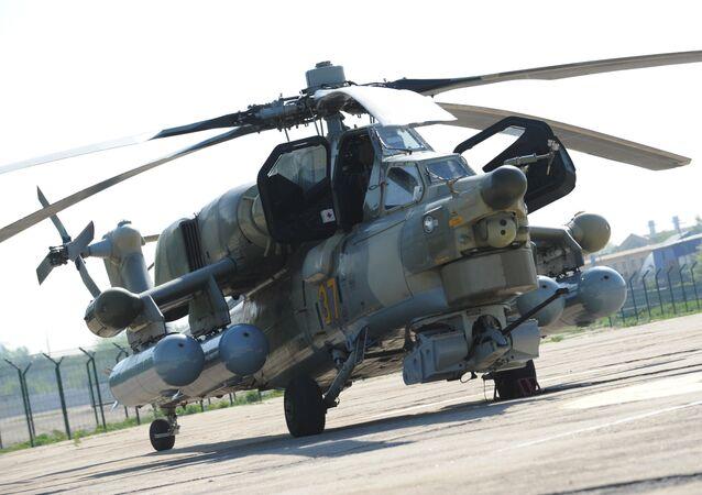 Helicóptero de ataque Mi-28