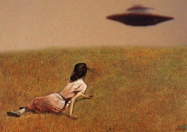 OVNI - objeto voador não identificado