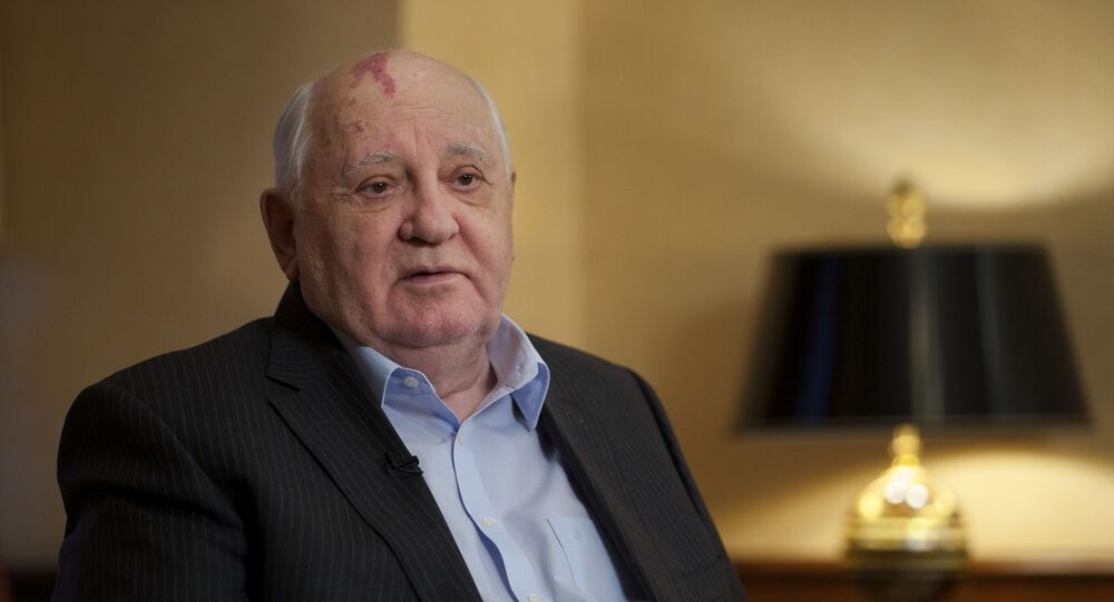 Ex-presidente soviético Mikhail Gorbachev (foto de arquivo)