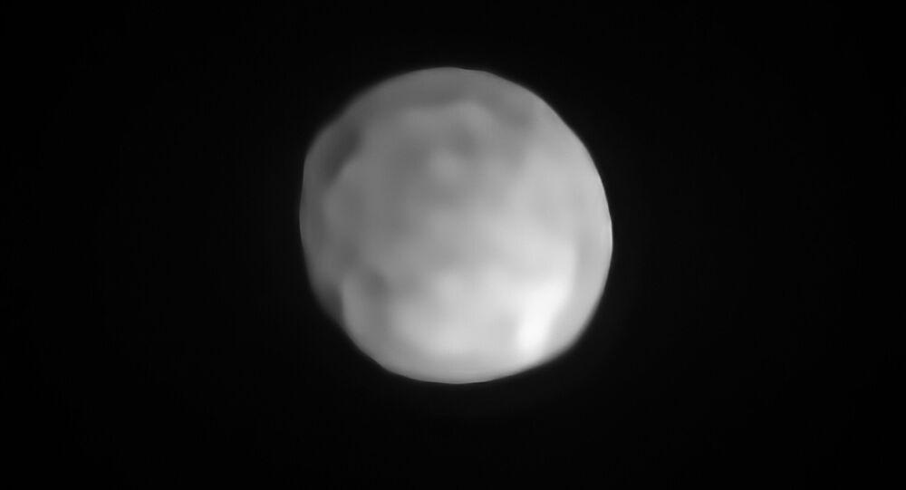 Imagem do asteroide Hígia