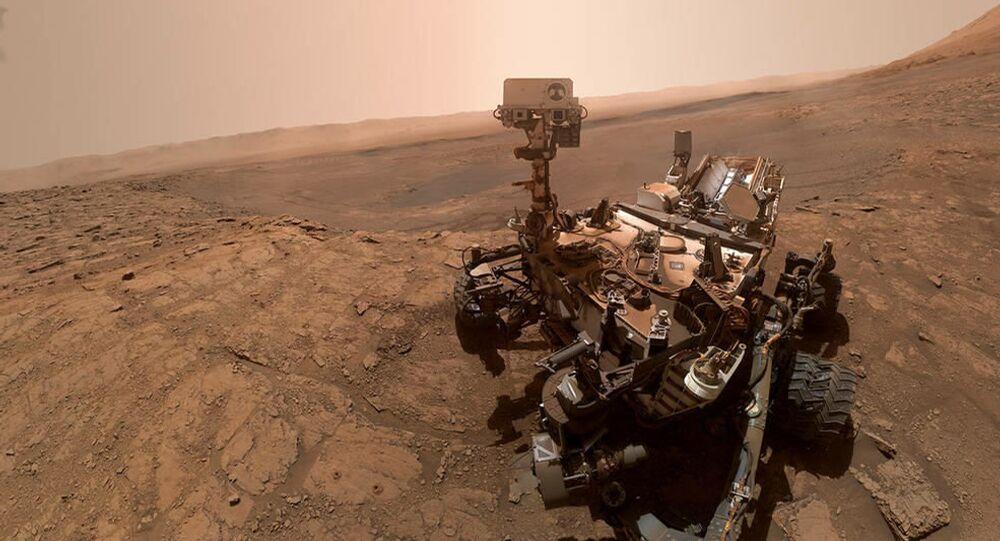 Rover Curiosity faz selfie em Vera Rubin Ridge em Marte, 11 de outubro de 2019