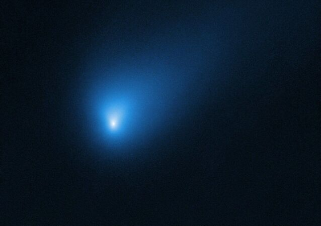 Imagem do cometa interestelar batizado de 2I/Borisov