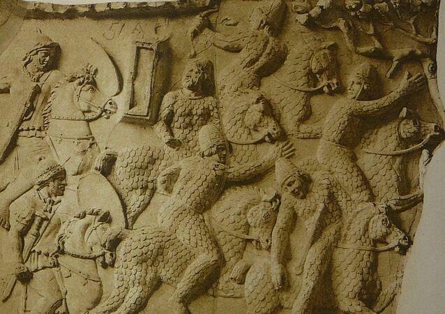 Os sármatas (imagem referencial)