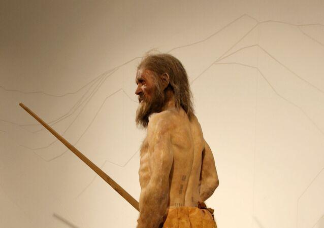 Homem de gelo, conhecido como Otzi