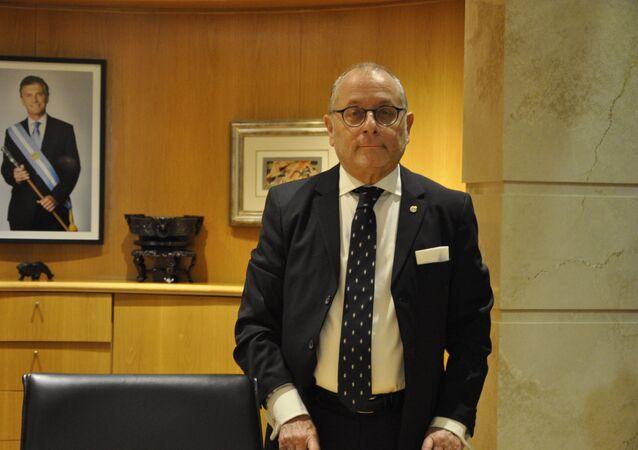Jorge Faurie, ministro das Relações Exteriores da Argentina
