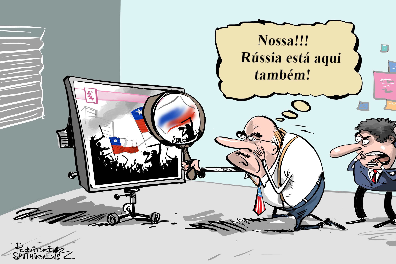 Essa Rússia que intervém em todos os assuntos