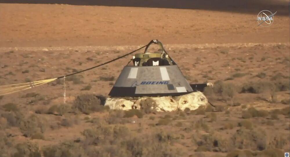 Nova nave espacial da Boeing, Starline, passa por testes, no dia 4 de novembro de 2019