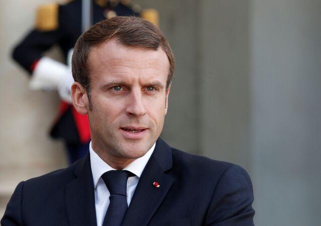 Presidente francês Emmanuel Macron