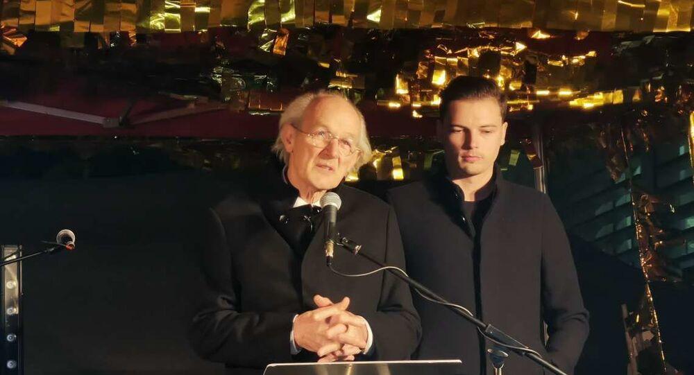 John Shipton, pai de Julian Assange