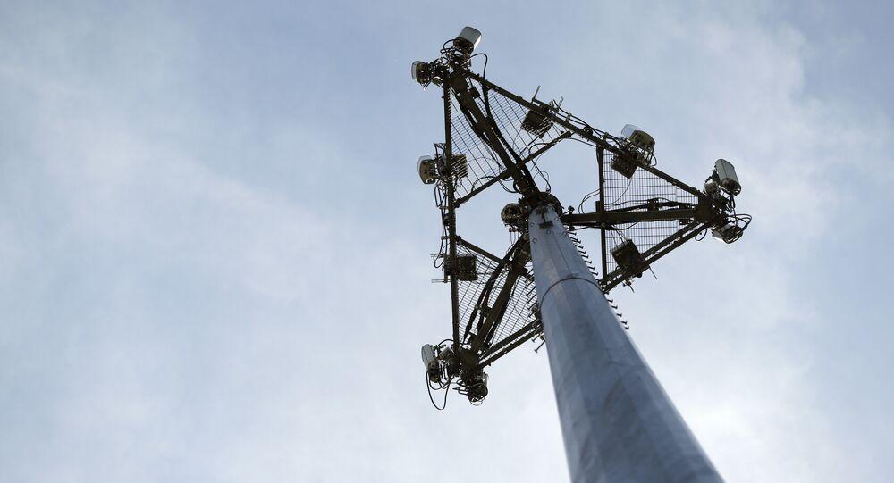 Antena de telecomunicações (imagem referencial) .