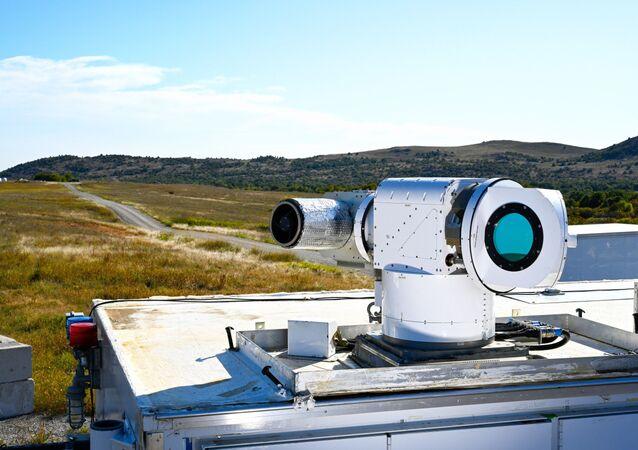 Sistema de armas a laser ATHENA (Ativo Avançado de Alta Energia para Testes)