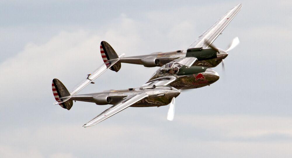 Avião P-38 Lightning