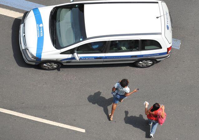 Avenida Rio Branco do Rio de Janeiro, Brasil, 21 de setembro de 2012