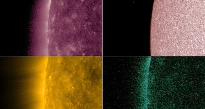 Trânsito de Mercúrio em torno do disco solar