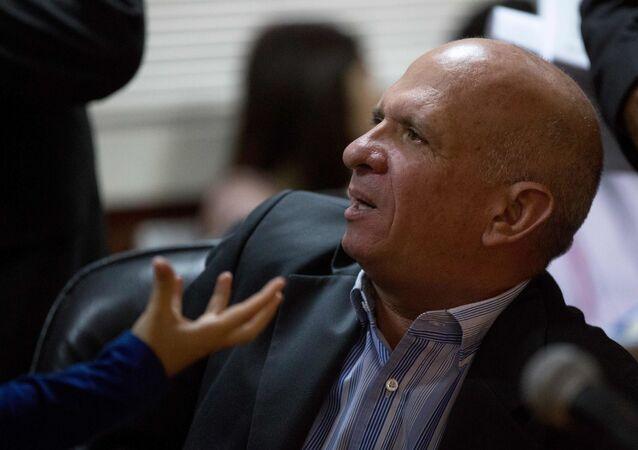 Ex- chefe de inteligência da Venezuela, Hugo Carvajal, teve que se reitrar do país no início deste ano, após aliar-se a Juan Guaidó