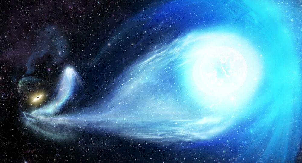 Estrela super-rápida S5-HVS1 (imagem ilustrativa)