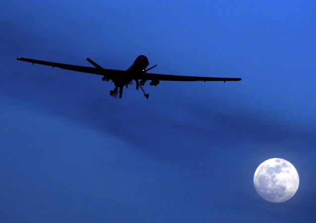 Um drone americano Predator (foto de arquivo)