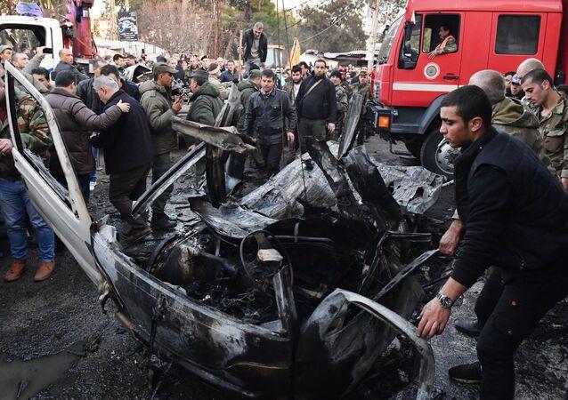 Explosão de carro-bomba na Síria (arquivo)