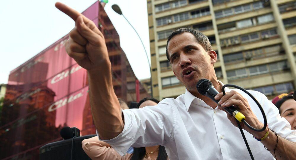Juan Guaidó, líder opositor venezuelano