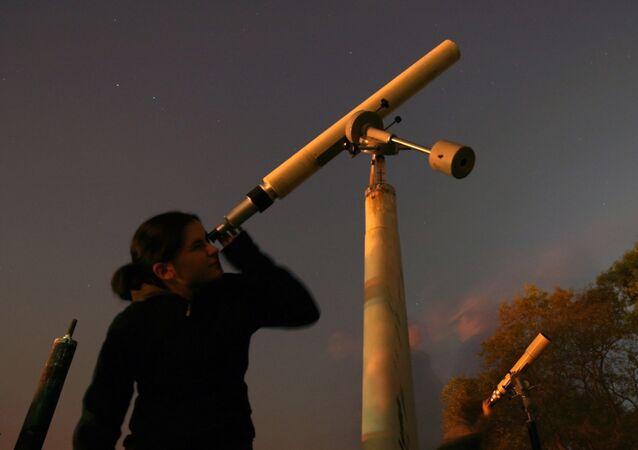 Observação da chuva de meteoros Leônidas na Bulgária
