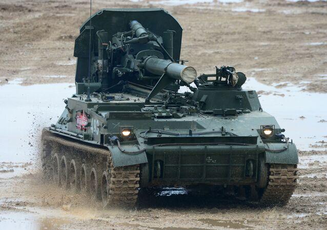 Morteiro 2S4 Tyulpan (imagem de arquivo)