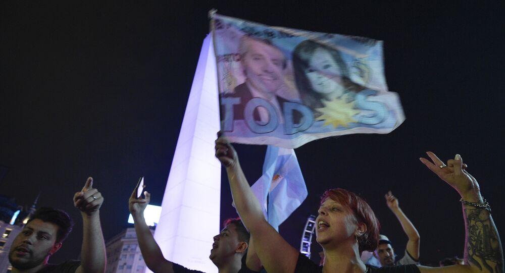 A coalisão Frente de Todos uniu todos os setores do peronismo e da esquerda argentina para derrotar o atual presidente Mauricio Macri nas eleições presidenciais de 2019