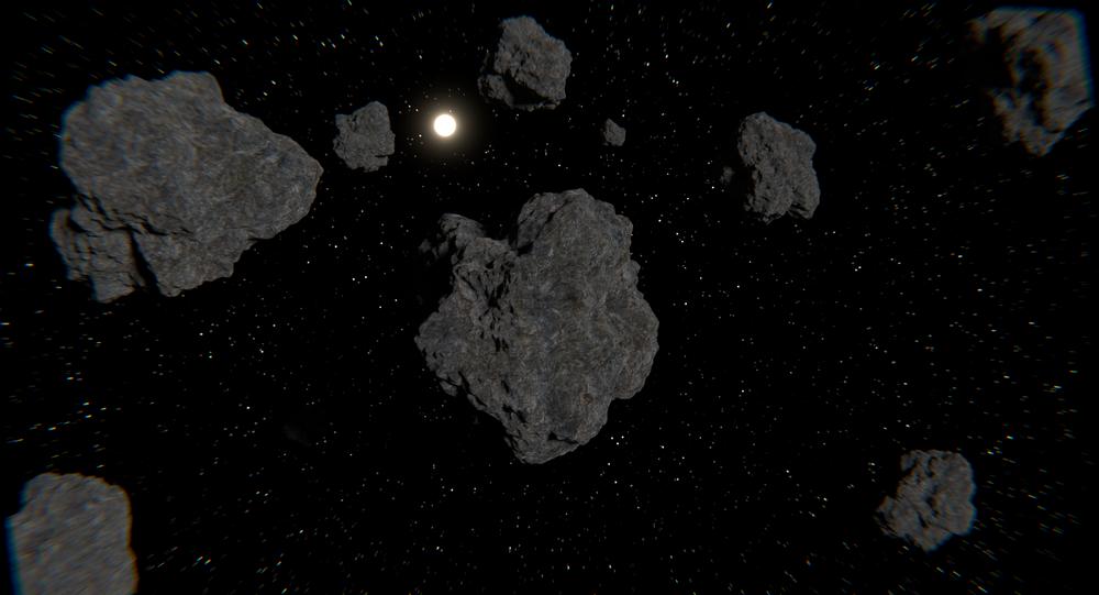 Asteroides no espaço (imagem ilustrativa)