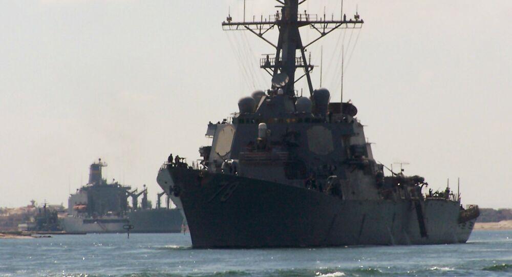 Destroyer da marinha dos EUA Porter