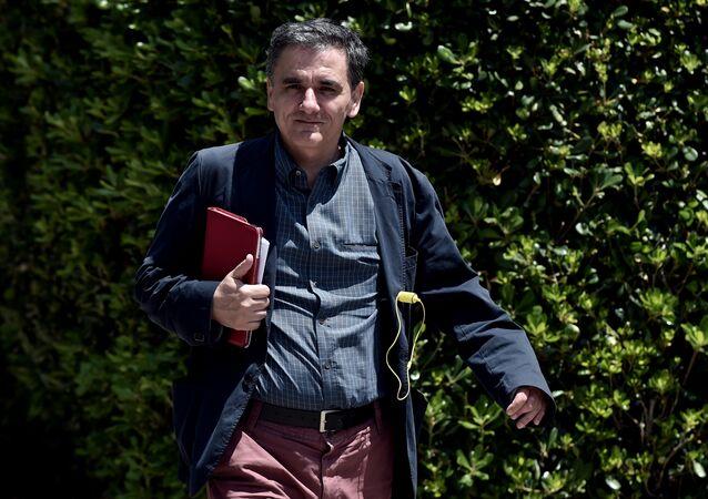 Euclidis Tsakalotos, novo ministro das Finanças da Grécia
