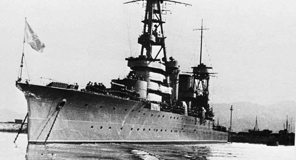Cruzador soviético Krasny Kavkaz (foto de arquivo)