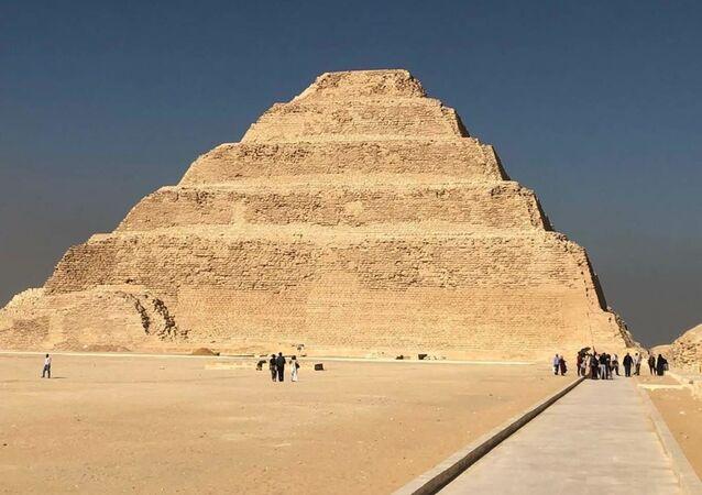 Complexo de Sacará, nos arredores do Cairo
